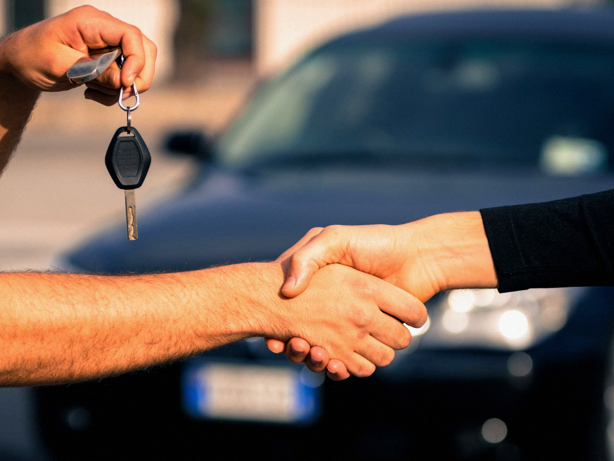 Номера при покупке новой машины
